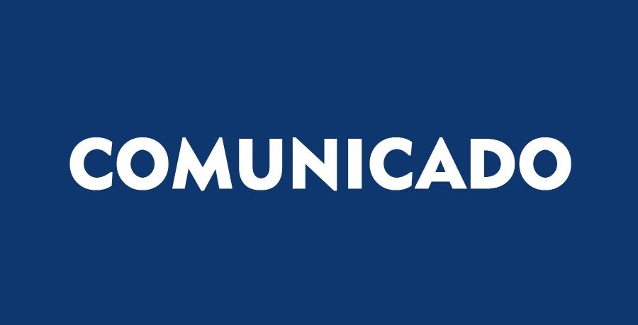 Comunicado da Diretoria