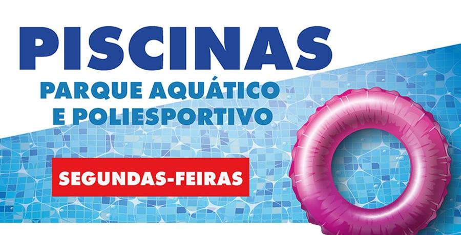 Piscinas, Parque Aquático e Poliesportivo